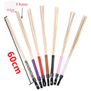 camaTech 8 in 1 Canes Whip 60CM Natural Rattan Rods Spanking Paddle BDSM Bamboo Ruler Whips Fetish Slave Knout Flogger Flirt Toy