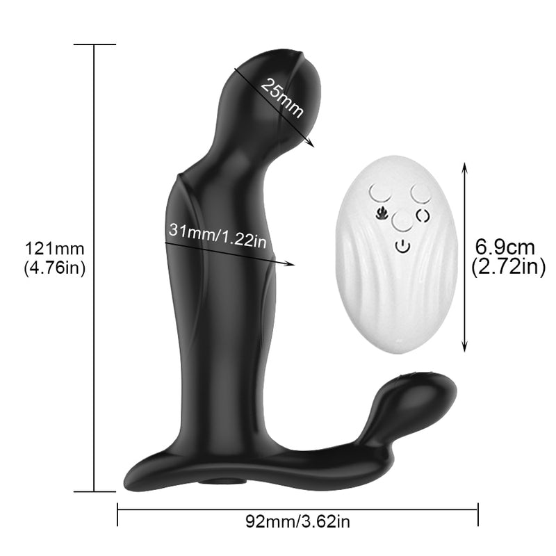 Wireless Remote Control  Prostate Massager for Man Gay Anal Plug Butt Vibrator Adult Sex Toy for Ass Male Masturbator Stimulator
