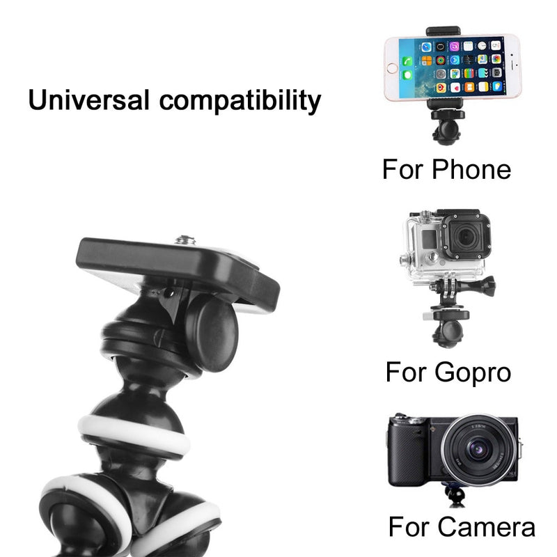 GAQOU M L Size Flexible Tripod Stand Mini Gorillapod Monopod  Octopus Tripods for Gopro Digital Camera Canon Nikon Mobile Phone