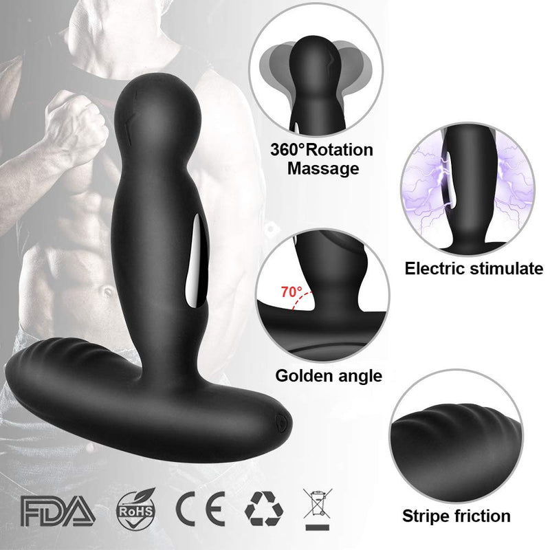Electric Shock Male Prostate Vibrator