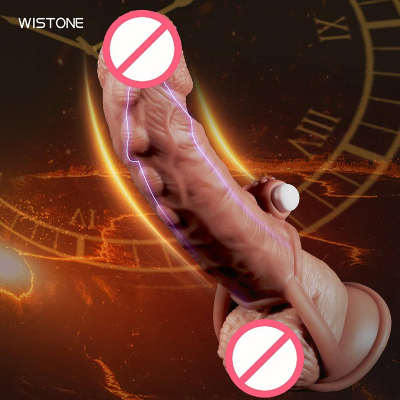 Thick Condoms For Men Dildo Extender Reusable Penis Sleeve  Intimate Goods Penis Enlargement condom Rings Cock Massager Sex Toys