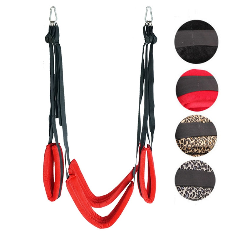SM Bondage Gear Swing Chairs Hanging Door Sex Furniture Straps Flirting Bondage Rope BDSM Bondages Erotic Game Toy  For Couples