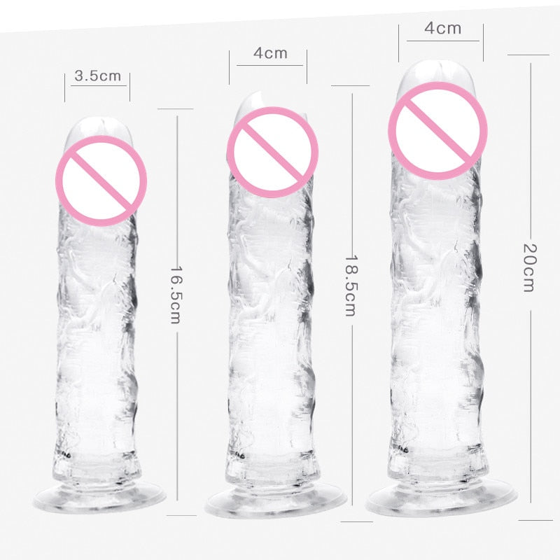 M-047 Realistic dildo with suction cup ultra-soft tpe artificial penis women sex toy Female masturbation massager