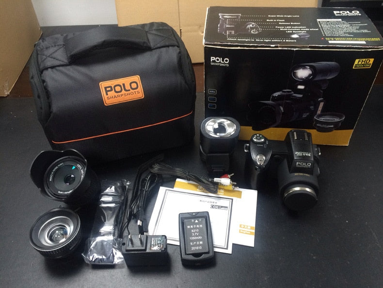 Polo Sharpshots/PROTAX D7200 Digital Video Camera DV 33mp Resolution 24XOptical Zoom Auto Focus Professional Camcord  Camcorder