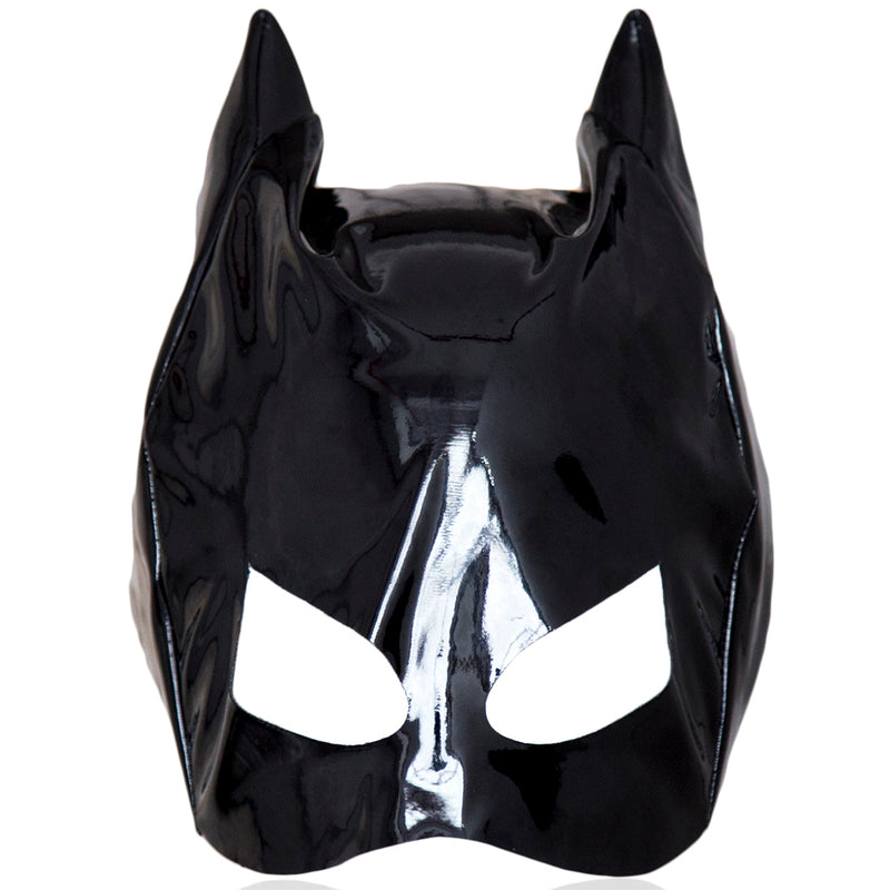 Fetish headgear sexy SM hood mask head harness bondage restraint adult batman cat costume sex game toy for women men gay cosplay