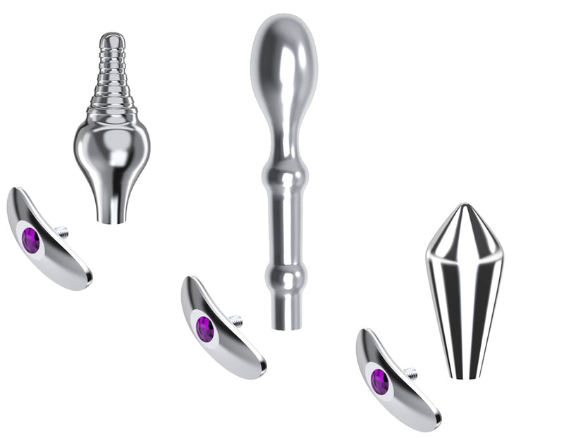 Big Crystal Anal Toys Butt Plug Stainless Steel Anal Plug Sex Toys for Women Adult Sex Products Plug Anal Beads