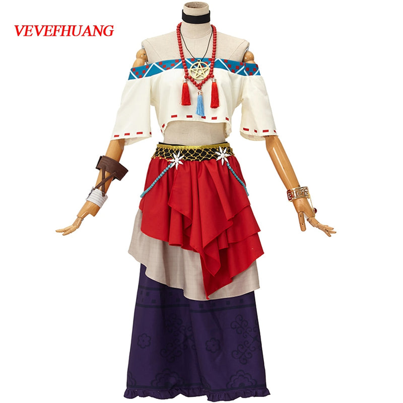 VEVEFHUANG Anime! Identity V Gilman Fiona Misfortune Skin Sexy Nifty Lovely Uniform Cosplay Costume Daily Dress For Women