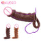 EXVOID Penis Extender Enlarger Delay Ejaculation Penis Sleeve Cock Ring Sex Toys For Men Vagina G-spot Massager Liquid Silicone