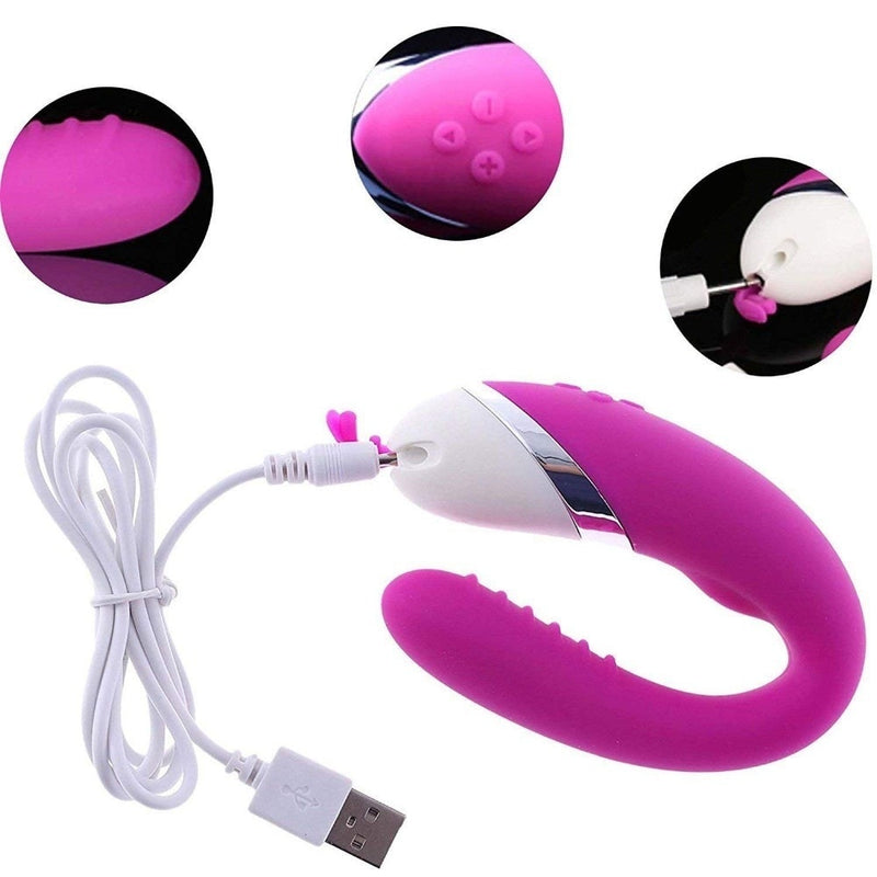 USB Rechargeable 12 speeds Bending Twisted Vibrator G Spot Dildo Stimulator Sex Toys For Women Sex Products for Couples