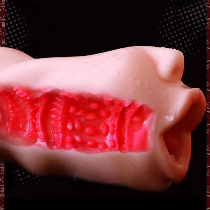 Soft Mouth Male Masturbator for Man TPE Sex Doll 3D Artificial Vagina Pocket Pussy Oral Intimate Sex Toy for Penis Masturbation