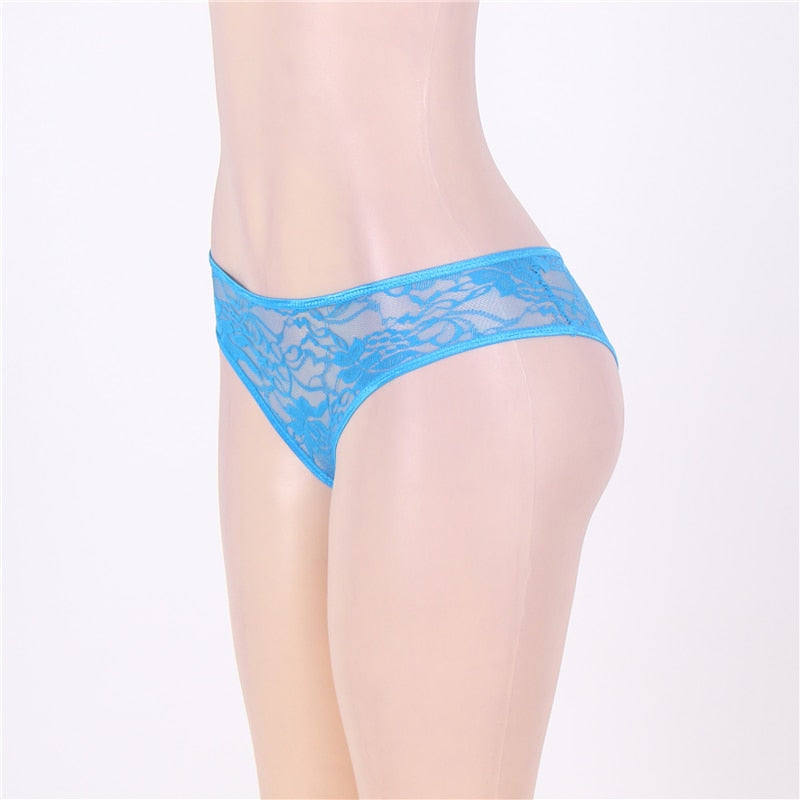 Bragas Mujer Sexy Underwear Women Open Butt Lace Transparent Calcinha Feminina Sexy Hot Plus Size Knickers Panties 5XL 6XL S5008