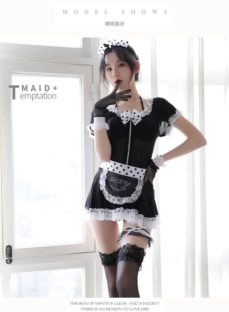 Women Sexy Lingerie Erotic Babydolls Sex Clothes Porn Women Costume Maid Uniform Cosplay Cute Kawaii Lace Underwear