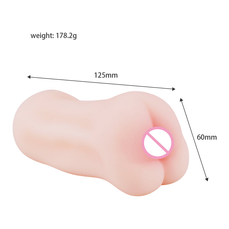 4D Realistic Deep Throat Male Masturbator Silicone Sex Toys for Men Artificial Vagina Mouth Anal Erotic Oral Sex