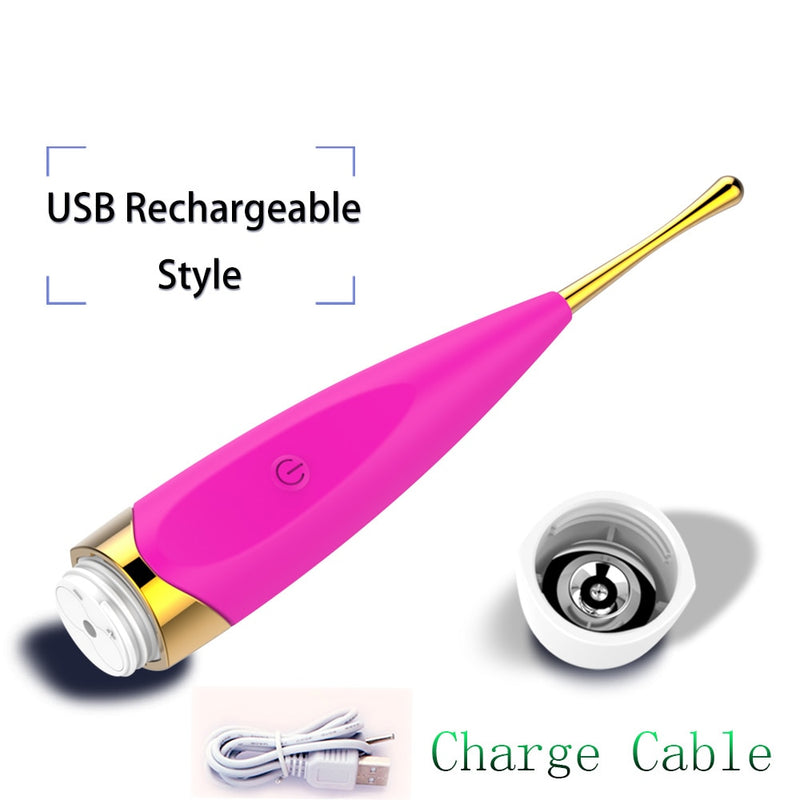 YEMA USB Charge Strong Vibrator Sex Toys for Woman Clitoris Vagina Nipple Stimulator Adult Sex Product