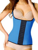 Blue Steel Boned Waist Trainer Corset