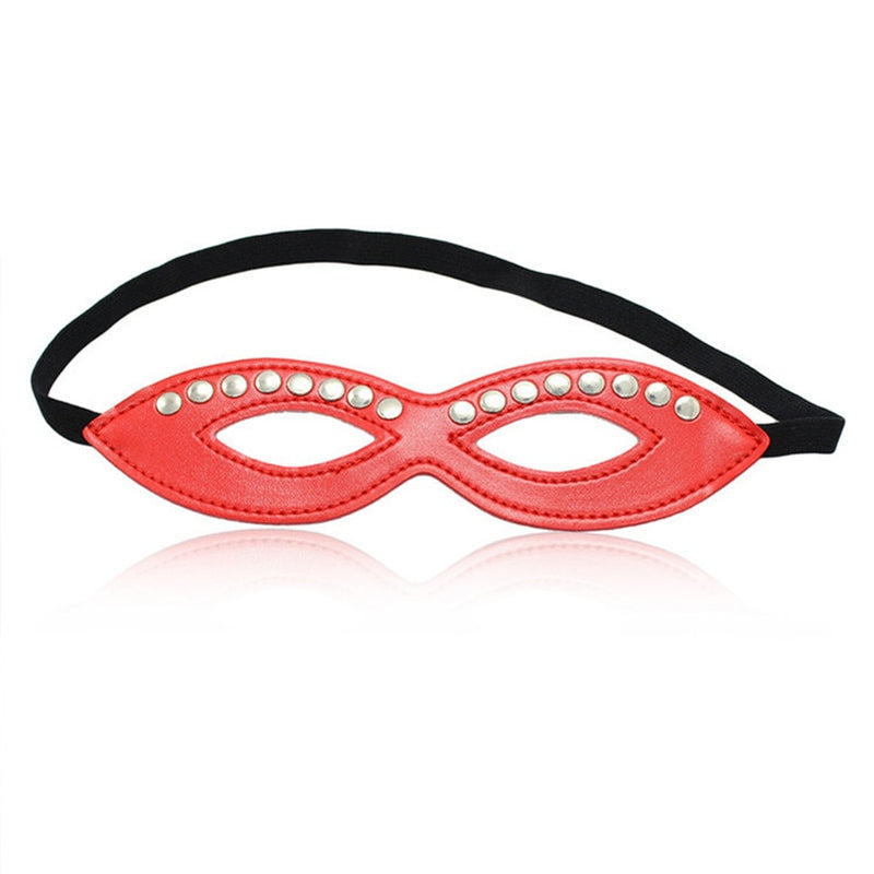 Red Cat Lady Eye Mask
