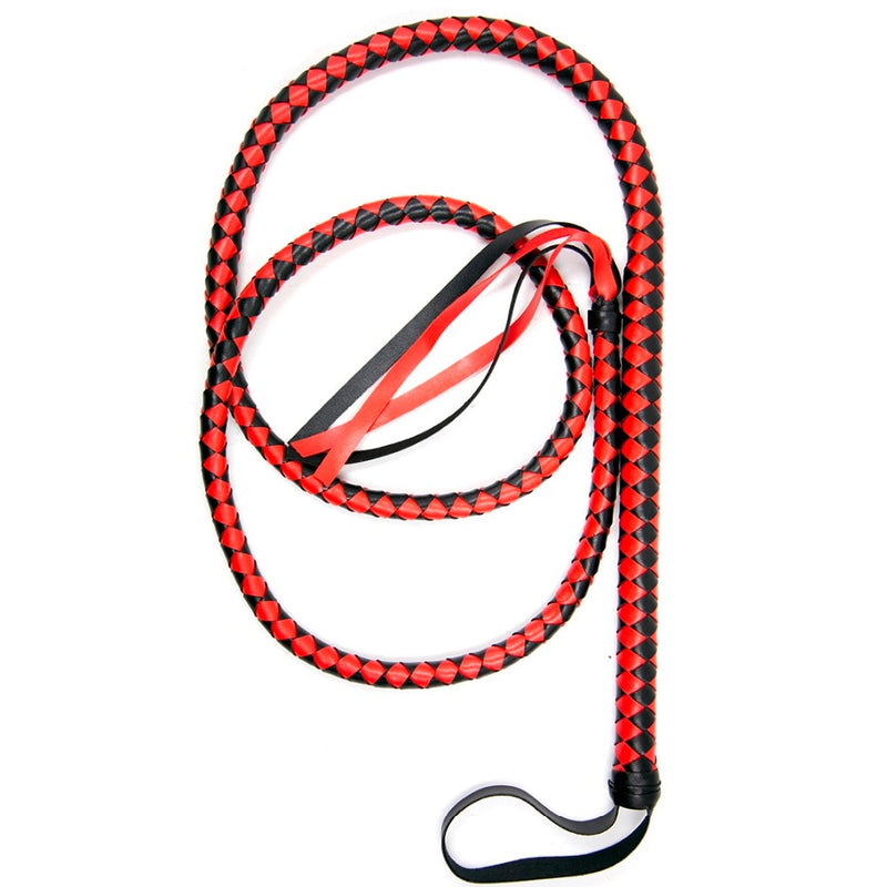 78.7 Inch Long Leather Whip