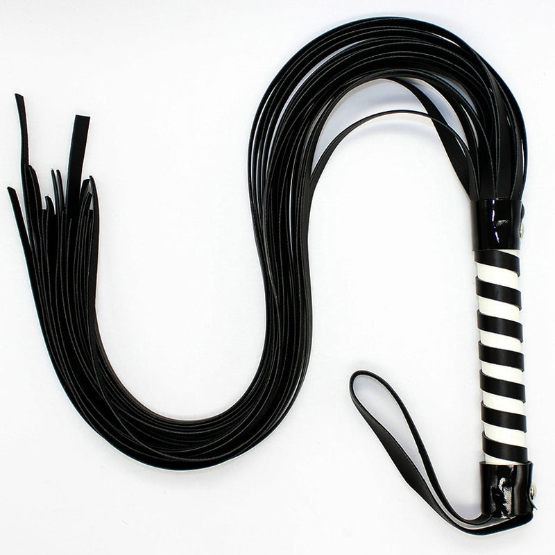 70cm PU Sex Spanking Tassel Leather Whip cosplay slap body strap beat lash flog tool fetish adult slave SM game toy for couple