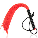 22cm Tiny Silicone Tassel Spanking Whip slap body strap beat lash flog tool fetish SM adult slave game Sex toy for couple women