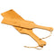 Large wood natural bamboo spanking paddle clap slap flap pat beat whip lash flog ass sex toy for adult SM game men women couple