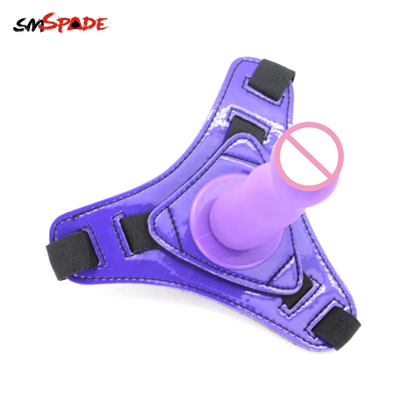 Smspade Dildo with Strap on Harness lesbian Strapon Gode Sex Toys for Couples Adult Sex Restraint Dildo Realistic Penis Sex Shop