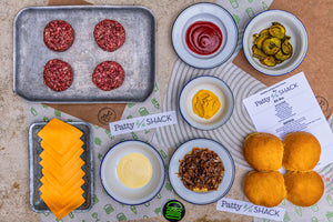 SHAKE SHACK X PATTY&BUN - THE 'PATTY SHACK' KIT