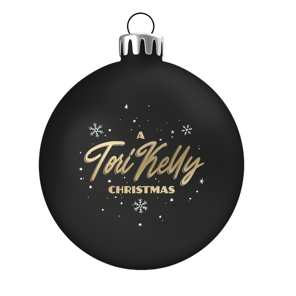 A Tori Kelly Christmas Ornament - Black