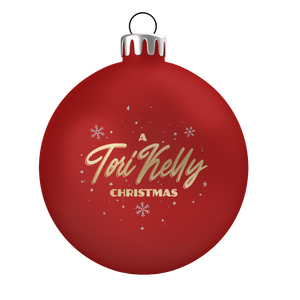 A Tori Kelly Christmas Ornament - Red