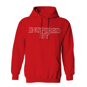 Inspired Logo Red Hoodie