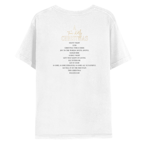 A Tori Kelly Christmas Tee - White