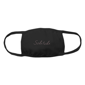 Solitude Face Mask - Black