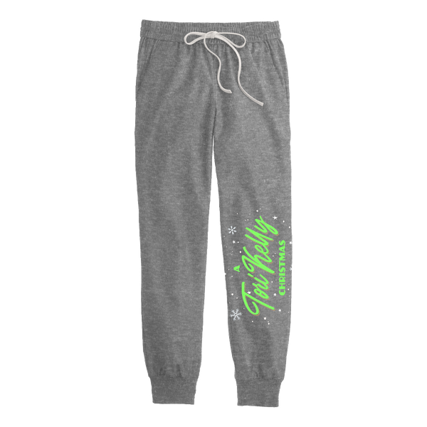 A Tori Kelly Christmas Joggers - Grey
