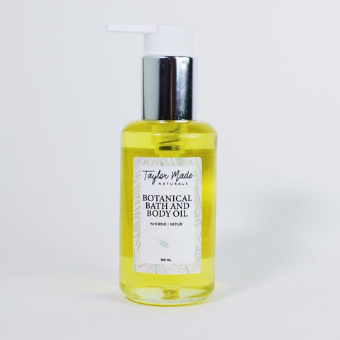 Botanical body oil is a plant based power house formulated to nourish and repair the skin. Suitable for all skin types including sensitive skin , dry skin and aging skin.