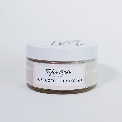 Rose Coco Body Polish