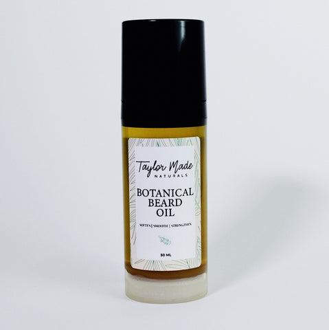 Botanical Beard Oil- Soften, Smooth and Strengthen your hair with our Natural Botanical Beard oil.