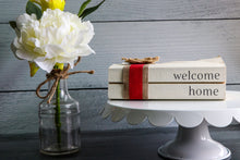 Load image into Gallery viewer, Welcome Home Book Set | Painted Book Stack