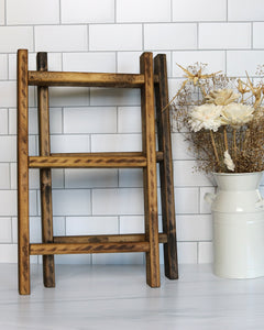 Tea Towel Ladder | Mini Ladder | Hand Towel Ladder