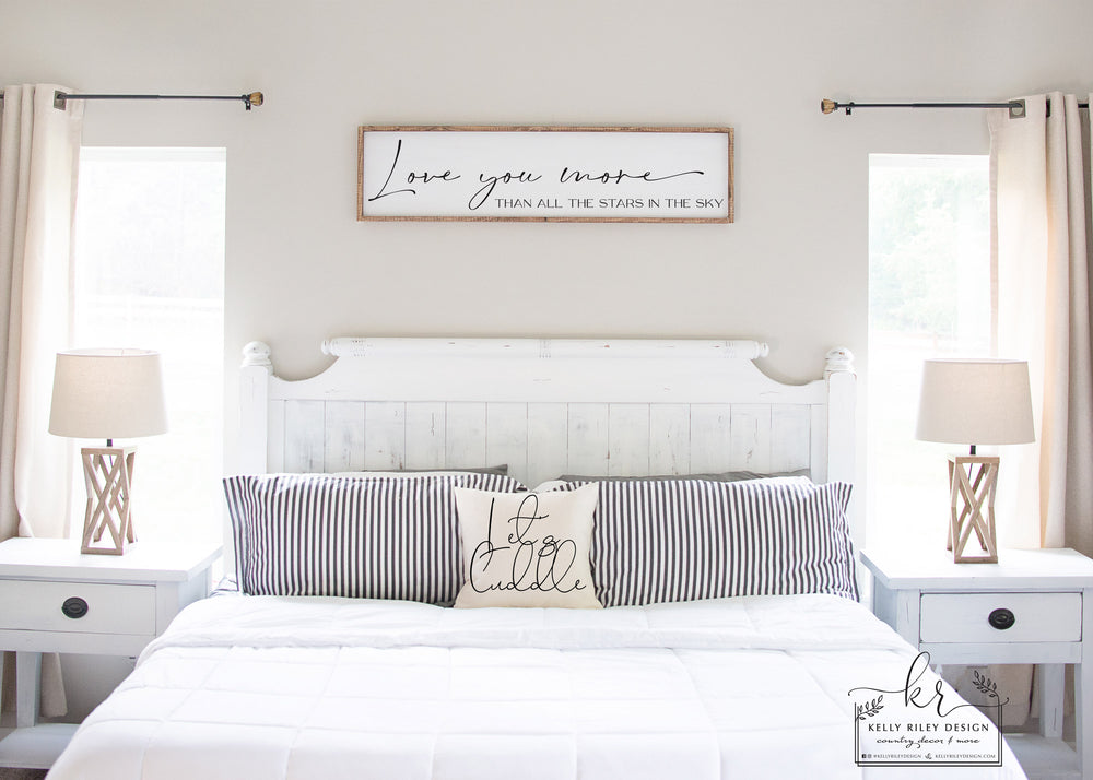 Listing for Pam L | Above The Bed Sign