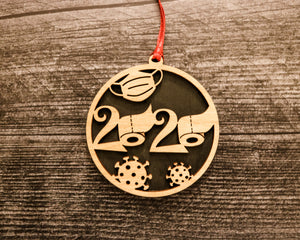 2020 Holiday Ornament | Wood Ornament 2020 Highlights