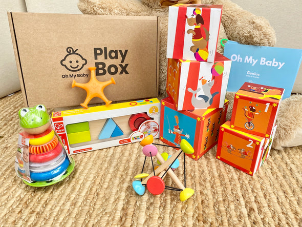 Play Box 'Genius' (13-14 meses) - Pack Regalo 3 Caja