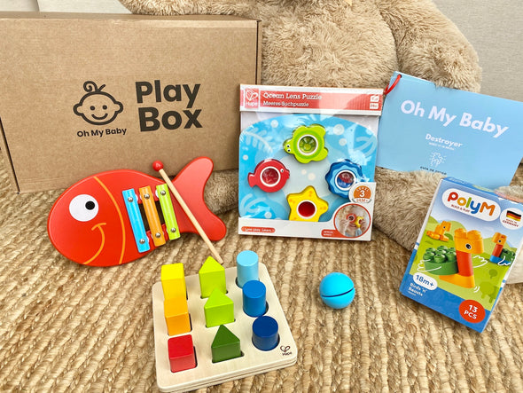 Play Box 'Destroyer' (17-18 meses) - Pack Regalo 1 Caja