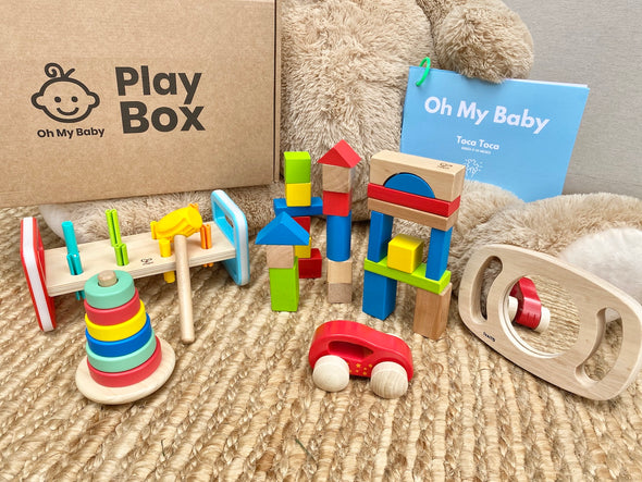 Play Box 'Toca Toca' (9-10 meses) - Pack Regalo 3 Cajas