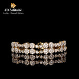 Diamond Yellow Gold Bracelet