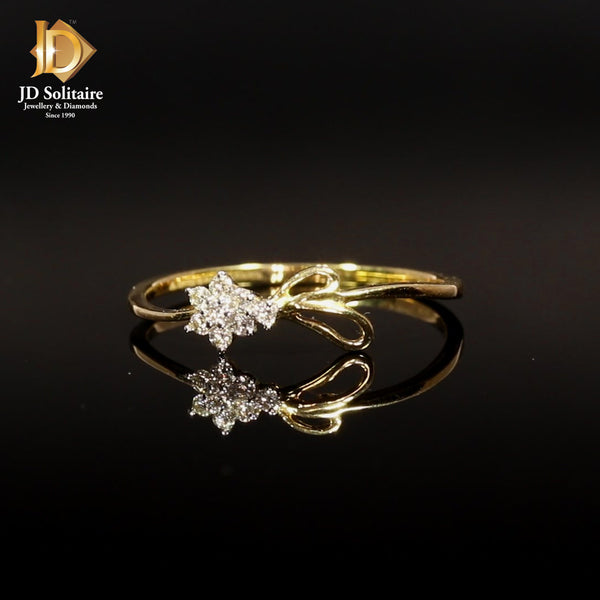 Diamond Yellow Gold Ring.