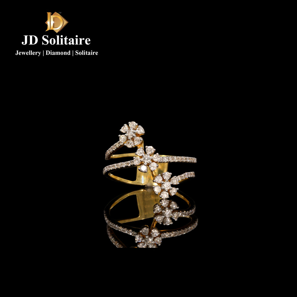 Diamond Yellow Gold Ring
