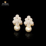 Diamond with Pearl Yellow Gold Bali