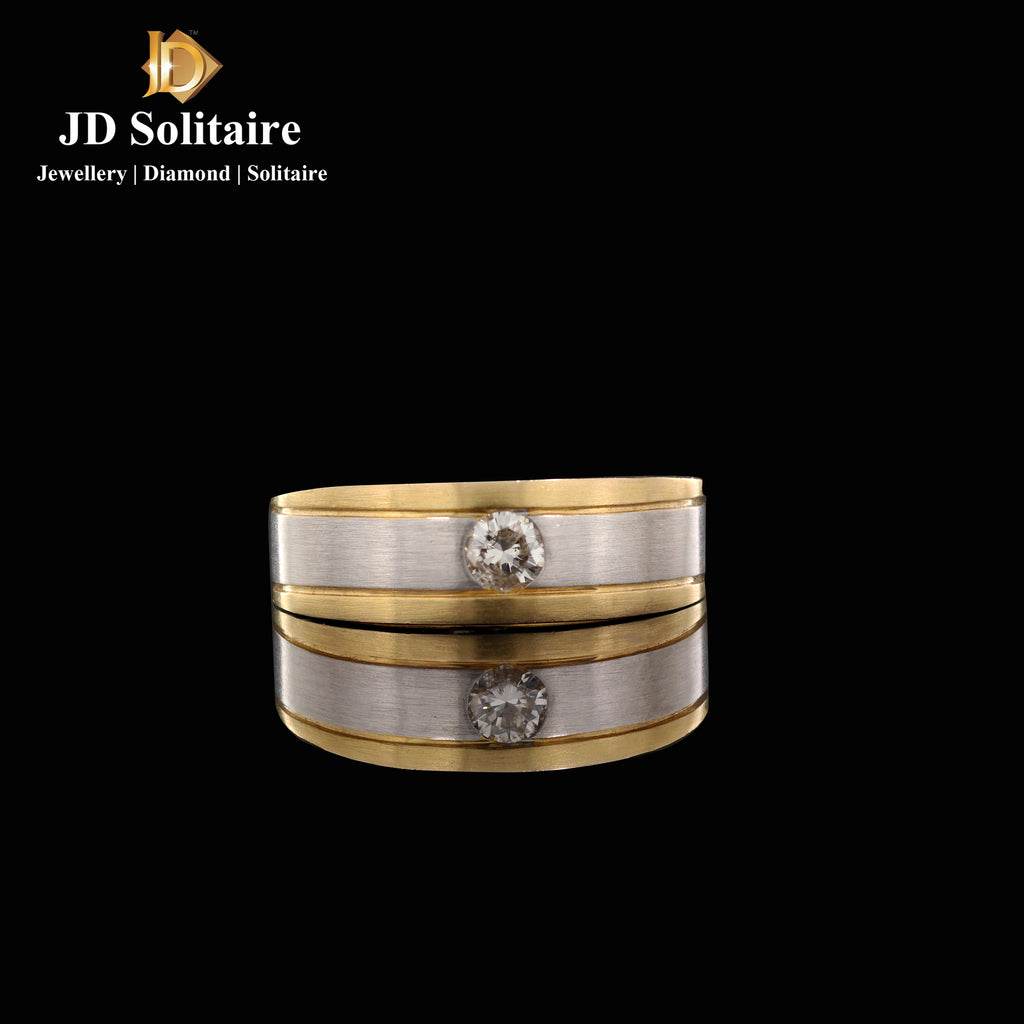Diamond Gents Band Ring
