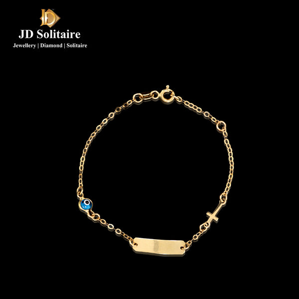 Yellow Gold Charms Bracelet