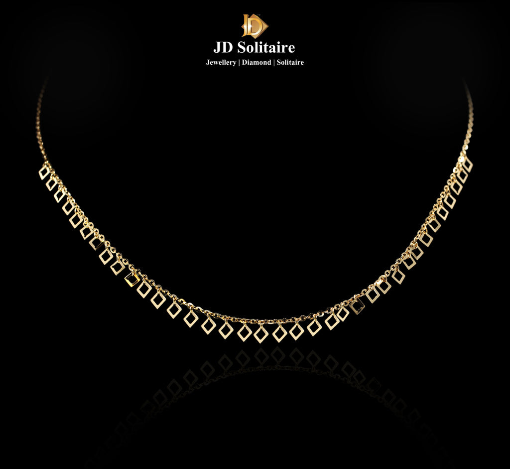 Italian Gold Necklace Only