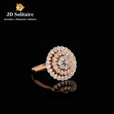 Diamond Rose Gold Ring
